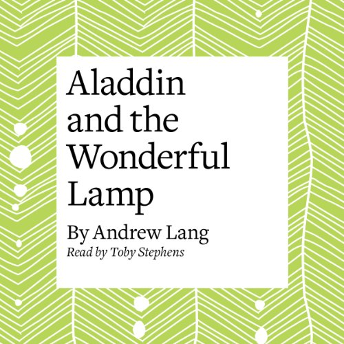 Aladdin and the Wonderful Lamp audiobook cover art