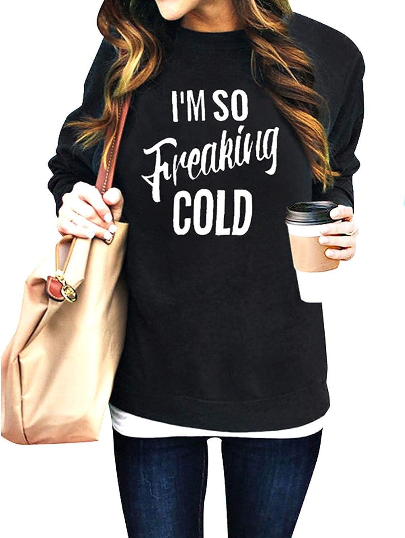 Women Im So Freaking Some reservation Cold discount Hoodie Oversize Long Sleeve Sweatshirt
