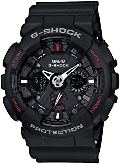 Casio Men's Ana-Digi Dial Resin Band Watch - GA-120-1AHDR