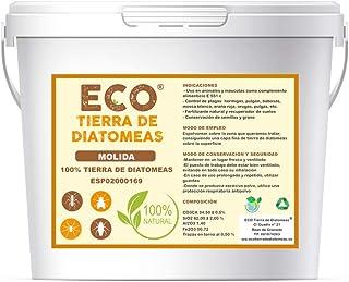 ECO Tierra de diatomeas Molida 5kg - Producto 100% Natural y