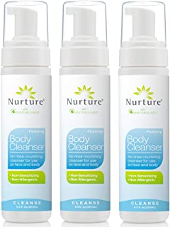 No Rinse Body Wash by Nurture | Full Body Cleansing Foam That Also Moisturizes, and Protects Skin - Non Allergenic - Non s...