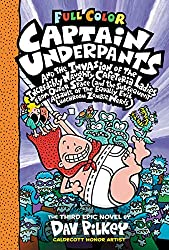 Cover of Captain Underpants and the Invasion of the Incredibly Naughty Cafeteria Ladies from Outer Space and the Subsequent Assault of the Equally Evil Lunchroom Zombie Nerds