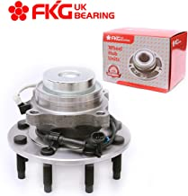 FKG 515059 Front Wheel Hub and Bearing Assembly fit for 2003-2015 Chevy Express GMC Savana 2500 3500, 8 Lugs 2WD W/ABS