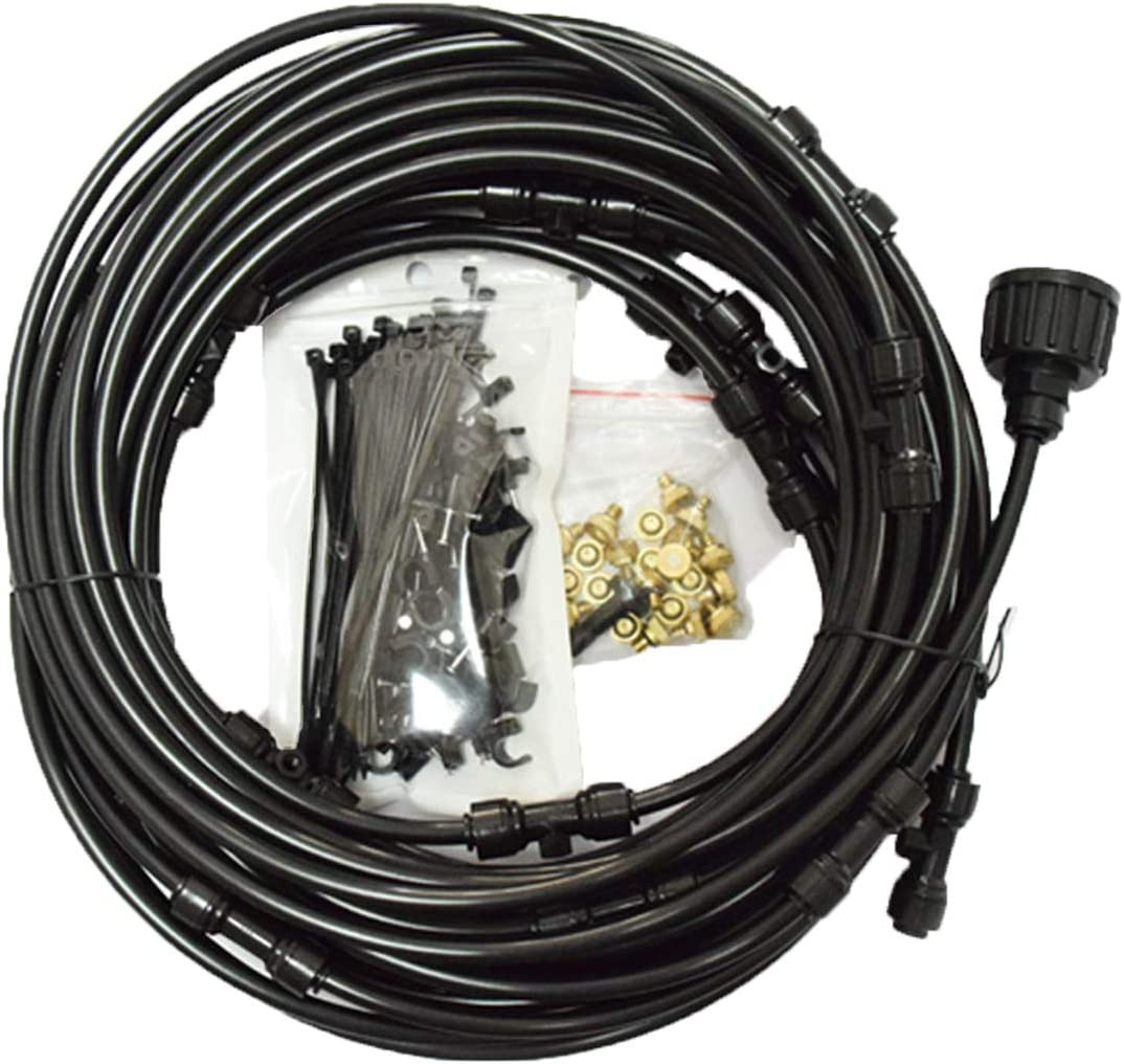 65.6FT Misting System with Greenhouse cheap Nozzles Over item handling ☆ Plants 26