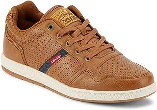 Mens Oscar 2 Millstone Perf Rubber Sole Casual Sneaker Shoe