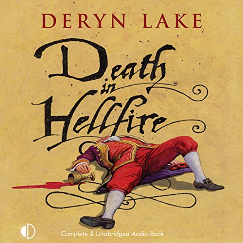 Death in Hellfire audiobook cover art