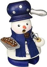 Alexander Taron Christian Ulbricht Incense Burner Snow Baker Blue 4 x 4 Inch Wood Christmas Figurine