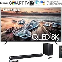 Samsung QN82Q900RB 82-inch Q900 QLED Smart 8K UHD TV (2019 Model) Bundle 370W Virtual 5.1.2-Channel Soundbar System with W...