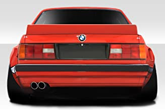Extreme Dimensions Duraflex Replacement for 1984-1991 BMW 3 Series E30 TKO Rear Wing Spoiler - 1 Piece