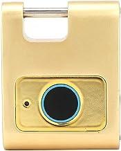 XTZJ Grote vingerafdruk hangslot, slim hangslot, IP66 geschikt voor buiten, school, kluisjes, hek, garagedeur, poort, kast...