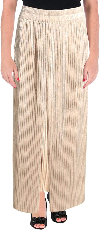 Alice McCall Womens Pleated Side Split Maxi Skirt