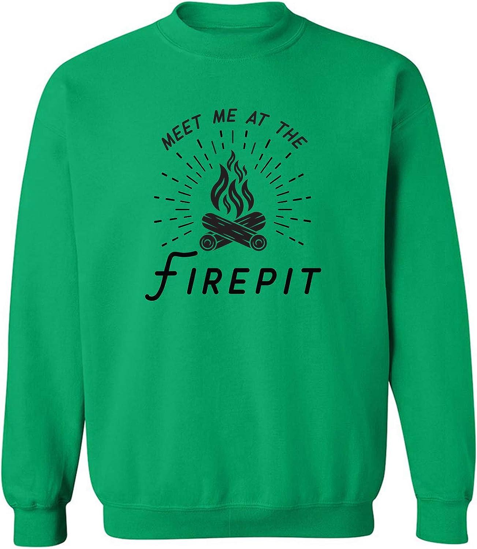 Meet Me At The Firepit Crewneck Sweatshirt
