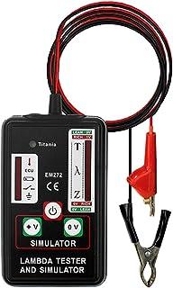 Romacci EM272 Lambda tester & simulator Zirconia Titania Lambda Sensors & ECU Test 1,2,3 e 4 Wires Sensors