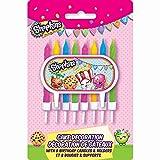 Unique Shopkins Cake Topper & Birthday Candle Set