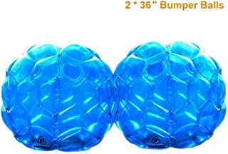 PACKGOUT Bumper Balls, Inflatable Body Bubble Ball Sumo Bumper Bopper Toys for Kids & Adults 36
