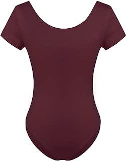 Alvivi Damen Spitze Body Ballett Trikot Anzug Top Elegent Einteiler Bodysuit Tanzbody f/ür Training Yoga XS-XL