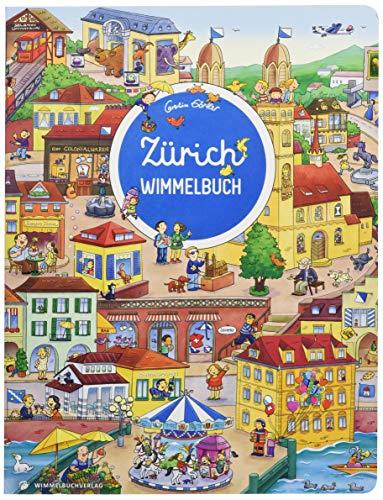 Zürich Wimmelbuch - Das große Bilderbuch ab 2 Jahre: Kinderbücher ab 2 Jahre