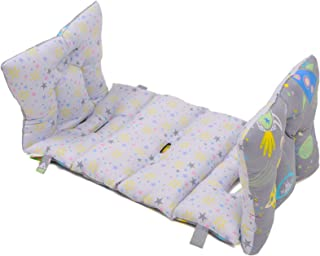 Wagon Stroller 100% Cotton Anti Allergy Water Resistant 2 Sided Mat Cushion