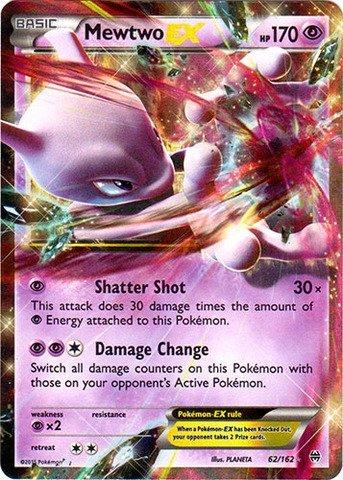 Pokemon - Mewtwo-EX (62/162) - XY Breakthrough - Holo