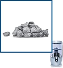 Nikken Waterfall 1 Mineral Stones - 13846, Replacement for Gravity Water Filter Purifier System 1384 - PiMag Water Systems Components - Helps Prevent Acidity and Reduction of Aesthetic Chlorine