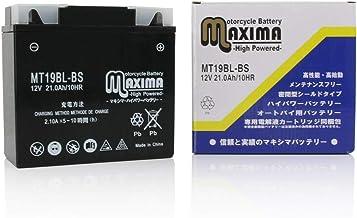 マキシマバッテリー MT19BL-BS シールド式 ロードサービス付き バイク用 19BL-BS BMW R1150GSアドベンチャー R1150R Rockster(ロックスター)