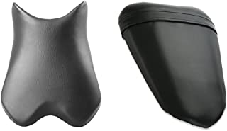 Front Rider Driver Rear Passanger Seat Pillion Cushion For Yamaha YZF R6 2008-2009