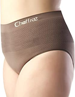 Chaffree Womens Anti Chafing Sports Activewear Gym Exercise Briefs, Ladies Midi High Waist Underwear Brief Panties Active ...