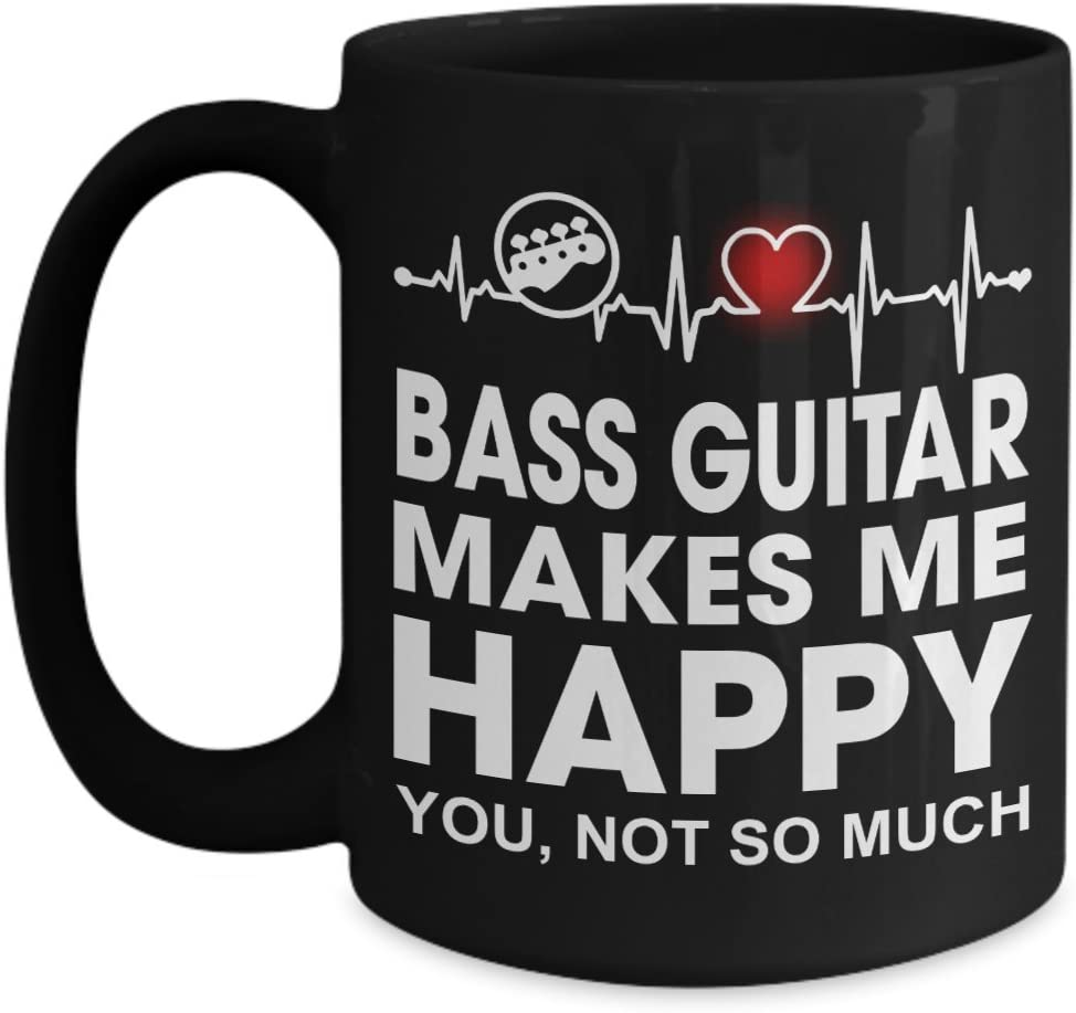 Music Instrument Player Gifts - Heartbeat Me Bass Guitar Makes latest Cheap super special price H