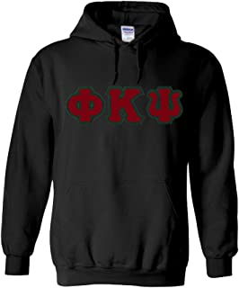 Phi Kappa Psi Lettered Hooded Sweatshirt