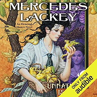 Unnatural Issue     Elemental Masters              Written by:                                                                                                                                 Mercedes Lackey                               Narrated by:                                                                                                                                 Kate Reading                      Length: 13 hrs and 15 mins     1 rating     Overall 5.0