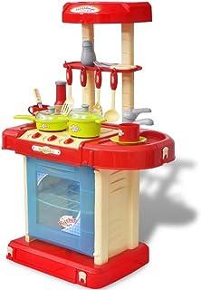 vidaXL Cocina de Juguete de Niños Luz y Sonido de Colores Plástico Cocinita