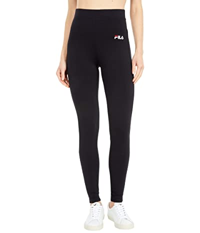 Fila Rathi High-Rise Leggings (Black) Women