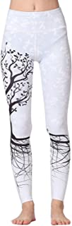 Whitewed High Waist Jungle Print Polyester Yoga Running Fitness Legging Pants