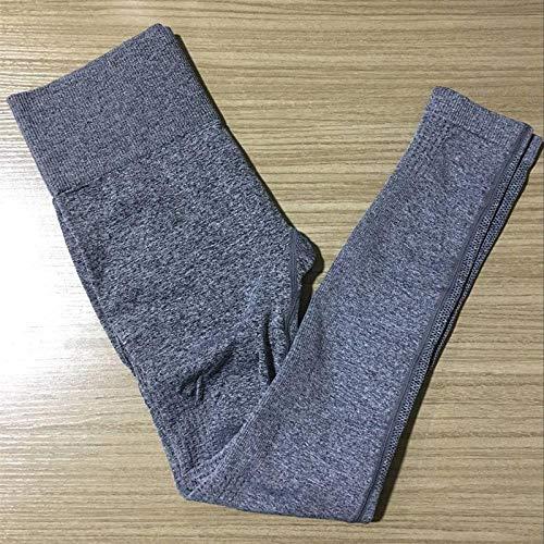 Leggings Nuovo Collant da Palestra Elastico Energy Ombre Leggings Senza Cuciture Controllo della Pancia Pantaloni da Yoga Vita Alta Sport Pantaloni da Corsa Leggings da Y
