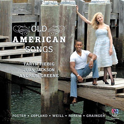 Taryn Fiebig, Juan Jackson & Andrew Greene