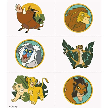 Brand New The Lion King Simba stickers party favours bag fillers