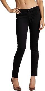 J Brand Women's Low Rise Super Skinny Jeans in Black Size 24