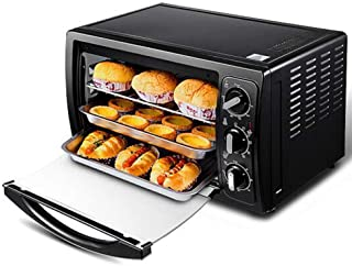 L.TSA Cocina multifunción Horno eléctrico Horno de cocción en casa Control de Temperatura Pastel 30L