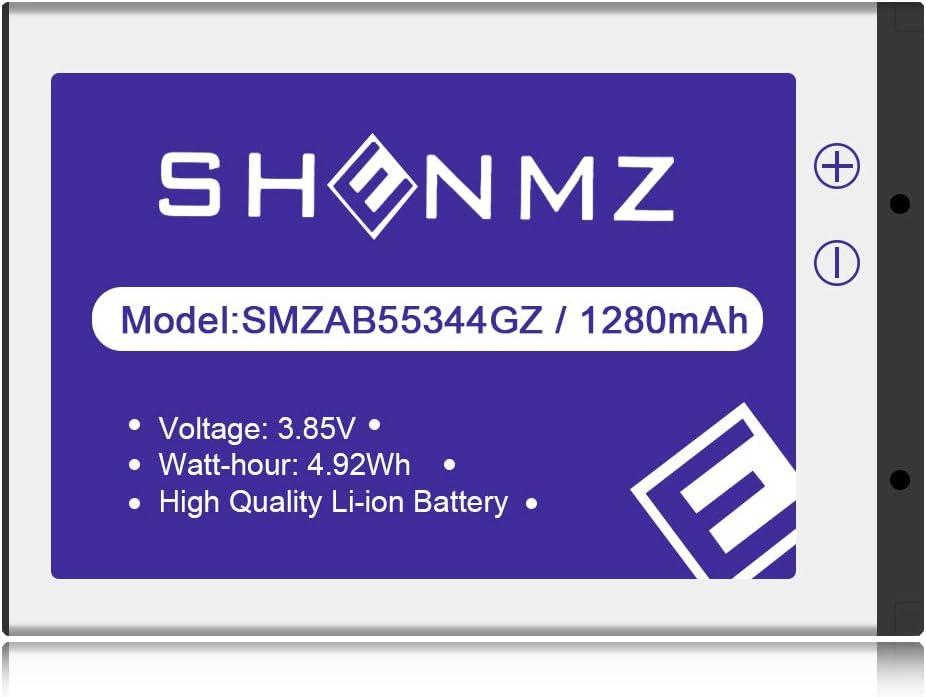 Amazon.com: Samsung AB553446GZ/AB553446GZB/AB553446GZBSTD (Upgraded)  1280mAh Li-ion Replacement Battery for Samsung U310 U340 U350 U410 U430  Verizon Wireless Flip Phone [3 Years Warranty]
