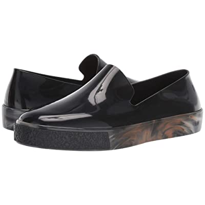 Melissa Shoes Ground II (Clear Black) Women