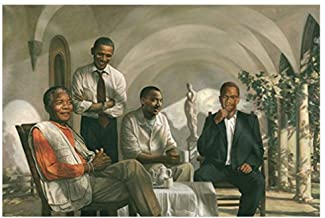 THE PIONEERS POSTER Mandela – Malcolm X – Obama – Martin Luther King..