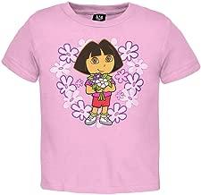 Dora The Explorer - Baby-Girls Flowers Infant T-Shirt