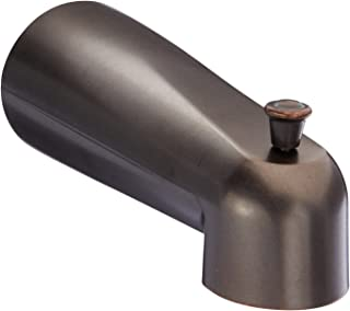 Moen  3853ORB Replacement 7-Inch Tub Diverter Spout 1/2-Inch Slip Fit Connection, Oil Rubbed Bronze