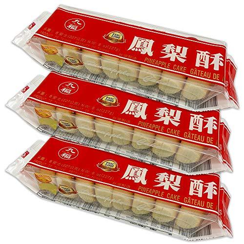 台湾 【 九福 】 パイナップルケーキ (袋) 3袋セット 227g/袋 台湾お菓子 お土産