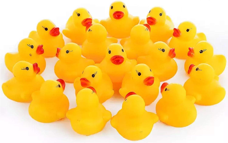 Maeline Bulk Mini Popular popular Rubber Ducks Bath Ducky Kids Sensory for Play Sale SALE% OFF