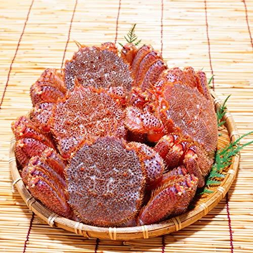 かにのマルマサ 北海道産 活毛蟹 2kg詰4尾セット 冷蔵品