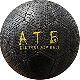 American Challenge All Terrain Outdoor Rubber Soccer Ball (Black, 5)