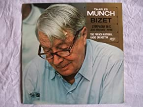 SMSA 2495 Bizet Symphony 1 French National Radio Charles Munch LP