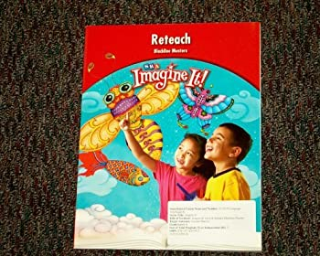 Paperback SRA Imagine It! Grade K Reteach Blackline Masters Book