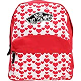 Vans Realm Backpack Zaino, 42Cm, 22L, Rosso(Hearts)